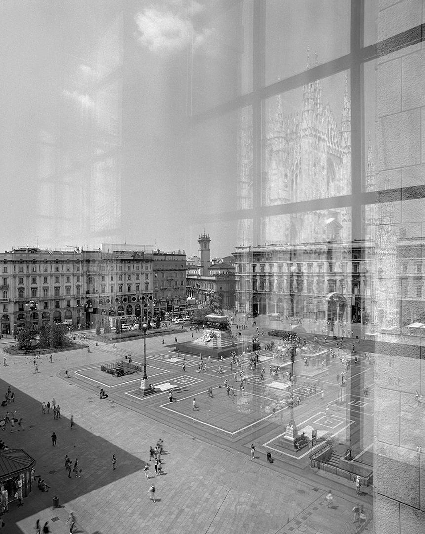 Changing Milano. Piazza Duomo.