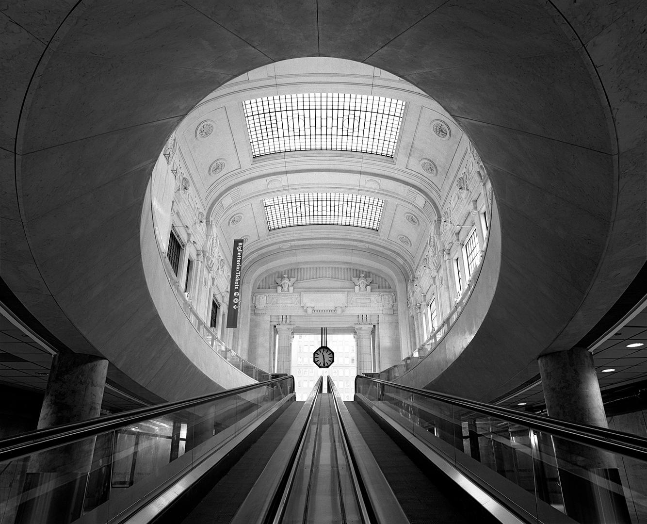 Changing Milano. Stazione Centrale.